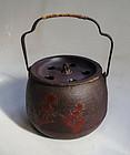 Japanese Vintage Iron Nanbu-tetsu Yukoboshi Tea Ceremony