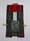 Japanese Antique Textile Silk Yosegire Sodenashi Vest