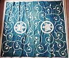 Japanese Antique Textile Cotton Chest Cover Yutan with Karakusa