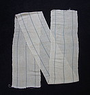 Japanese Antique Textile Asa Kaya Cloth Hemp & Cotton Mosquito Net