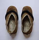 Japanese Vintage Mingei Craft Shoes Made of Straw, Hemp etc