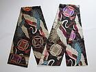 Japanese Vintage Textile Maru-obi for Formal Kimono Crane Motif