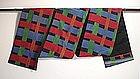 Japanese Vintage Textile Silk Obi Taisho or Early Showa