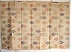 Japanese Vintage Textile Silk Gauze Kesa