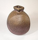 Japanese Contemporary Ceramic Bizen Hanaire