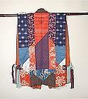 Japanese Antique Textile Patched Vest