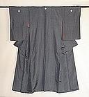 Japanese Antique Textile Silk Woman's Formal Kimono
