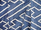 Japanese Antique Textile Cotton Futon Cover Sayagata
