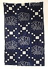 Japanese Antique Textile Kasuri Futon Cover Butterfly