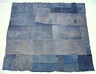 Japanese Antique Textile Boro Asa Rug With Sashiko
