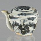 Octagonal Porcelain Chinese Scholar's Water Dropper