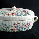 18th C Chinese Porcelain Famille Rose Tureen