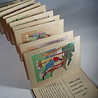 Chinese The Red Chamber Album Silk Paintings Signed