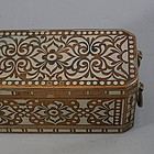Philippine Bronze Silver Inlaid Betel Nut Box