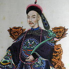 Pith Paper Ink Paintings Imperial Court Album Qing Dy