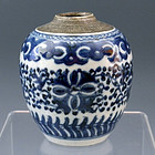 Ming Cobalt Blue Porcelain Ginger Jar Qianlong