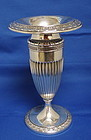 Antique Gorham Sterling Silver Acanthus Pattern Vase