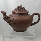 Very Nice Chinese Zisha Yixing Clay Teapot Signed