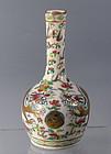 Chinese Porcelain Dragon Vase Famille Rose