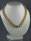 14K Yellow Gold Multi Link Rolo Chain Necklace