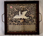 Qing Dy Silk Embroidered Chinese Court Official Bird Rank Badge