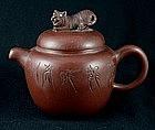 Yixing Teapot Crouching Tiger Hidden Dragon, Qing Dy