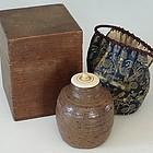 Very Rare Early Edo Shigaraki Ware Jar, 17th C