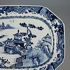 Qianlong Blue and White Platter Dish