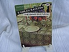 Coats & Clarks Book No. 120 Tablecoths Bedspreads
