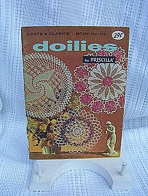Coats and Clarks Book No. 122 Doilies