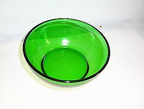 Forest Green cereal or salad bowl