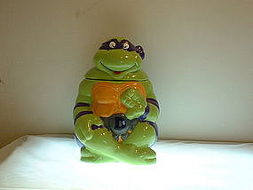 Teenage Mutant Ninja Turtle Cookie Jar