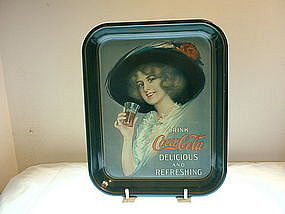 1972 Drink Coca-Cola Tray (Reproduction but New)