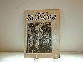 The Survey Missionary Education Society April 8, 1916