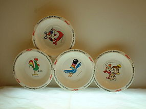Kellogg's The Best to you Each Morning 1995 Bowls