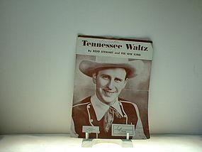 Tennessee Waltz by Redd Stewart and Pee Wee King
