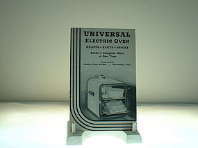 Universal Electric Oven booklet no., 1042-2-3-39