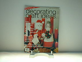 decorating & craft ideas Dec/Jan 1975-76