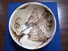 Rare Tang Changsha bowl with flying bird motif