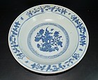 Ming dynasty Jiajing large deep charger plate