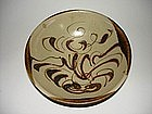 Very rare Tang changsha bowl arabic copper red motif