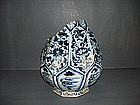 Rare big shard of Yuan blue and white yuhuchun vase