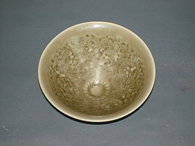 Song dynasty Yaozhou celadon conical bowl