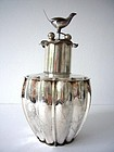 Rare and Large Chinese Silver Tea Caddy
