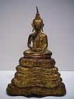 Thai Ratanakosin Bronze Buddha 19th Century