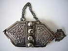 Rare Silver Boys Belt Hook from Oman