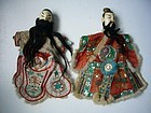 Pair of Chinese Puppets Late Qing