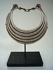 Rare Silver Hmong Hill Tribe Necklace