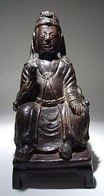 Chinese Ming Dynasty Bronze Figure