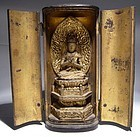 Japanese Zushi with Sitting Kannon
